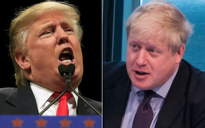 Donald Trump and Boris Johnson - more in common than a bad hair day