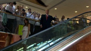 The Grand Entrance (ABC News photo)